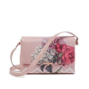 Ted Baker Teda Palace Gardens Bag Pink Floral NWT